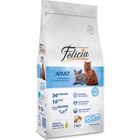 Felicia 2 Kg Somonlu Yetişkin Kedi Maması