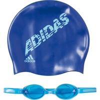 Adidas Çocuk Yüzücü Gözlüğü Bone Seti