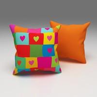 Erenev Aşk Duvarı Dekoratif Yastık Kılıfı Ern07013201