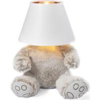 Parlaq Mimarlık Teddy Masa Lambası Beyaz Abajur