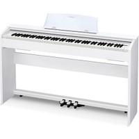 Casio PX-770WE Privia Dijital Piyano - Mat Beyaz - Tabure Ve Kulaklık