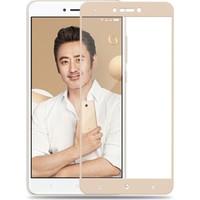 Sonmodashop Xiaomi Redmi Note 4X Kırılmaz 2.5D Tam Ekran Cam Ekran Koruyucu