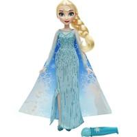 Hasbro Disney Frozen Sihirli Elbisesi Elsa Bebek