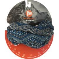 Merrell J00006 Headwear Yün Buff Bandana Siyah