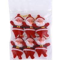 Kikajoy Yb410 Ağaç Süsü Noel Babalar 6Lı