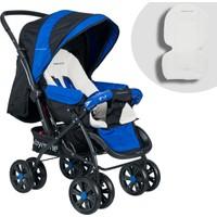 Baby Home Bh-555 Comfort Pedli Çift Yönlü Bebek Arabası Mavi