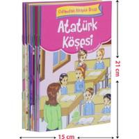 Odamdaki Kitaplık Seti 1 ve 2 Sınıflar İçin Düz Yazılı (10 Kitap-Küçük Boy)