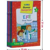 Okumayı Seviyorum Seti 1 ve 2 Sınıflar İçin Düz Yazılı (10 Kitap-Küçük Boy)