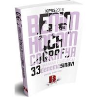 Benim Hocam Yayınları 2018 Kpss Coğrafya Tamamı Çözümlü 33 Deneme
