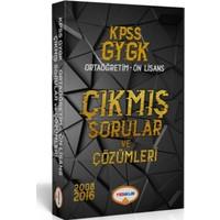 Yediiklim Yayınları 2018 Kpss Gy-Gk Lise-Önlisans Tamamı Çözümlü Çıkmış Sorular Tek Kitap