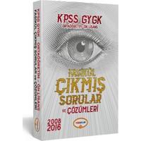Yediiklim Yayınları Kpss Gygk Lise-Önlisans Tamamı Çözümlü Fasikül Çıkmış Sorular