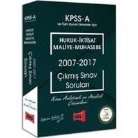 Yargı Yayınları Kpss A Grubu Hukuk - İktisat - Maliye - Muhasebe 2007 - 2017 Çıkmış Sınav Soruları