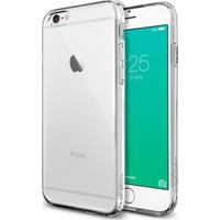 Spigen Apple iPhone 6/6S Kılıf Liquid Armor Crystal Clear