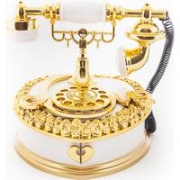 MamaCamilla Hareketli Nostaljik Telefon Müzik Kutusu Mücevherlik Takı Kutusu
