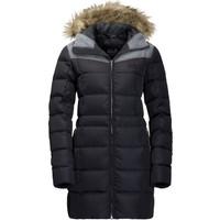Jack Wolfskin Baffin Island Coat Kadın Kaz Tüyü Parka 1203331 / Black