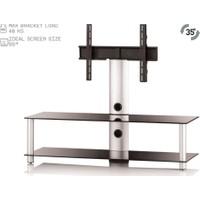 Sonorous Neo 130B-Slv Cam Alüminyum Tv Sehpası