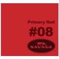 Savage (U.S.A) Stüdyo Kağıt Fon Primary Red 135x1100 cm