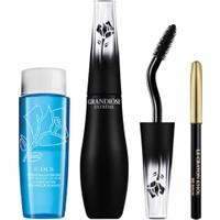 Lancome Grandiose Extreme Black Mascara + Crayon Khol Black Mini + Bi Facil Eye Makeup Remover 30 Ml