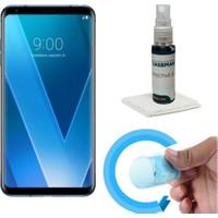 Case Man LG V30 Nano Glass Ekan Koruyucu + Ekran Bakım Kiti