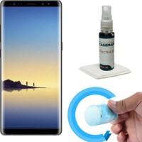 Case Man Samsung Note 8 Nano Glass Ekan Koruyucu + Ekran Bakım Kiti
