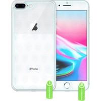 Case Man Apple iPhone 8 Plus Nano Glass Ön Arka Koruma Seti + Ekran Bakım Kiti