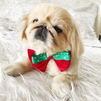 Kemique Kırmızı Mutlu Yıllar Köpek Papyonu Noel By
