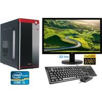 "Gamyx GMX6079 Intel Core i5 430M 4GB 500GB Freedos 21.5"" Masaüstü Bilgisayar"