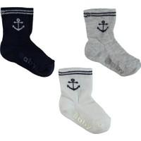 Artı Çorap 400263 3'lü Soket Bebek Çorabı