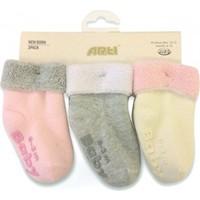 Katamino K45035 Maral 3'lü Bebek Çorabı