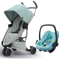 Quinny Zapp Flex Bebek Arabası + Maxi Cosi Pebble Plus Oto Koltuğu