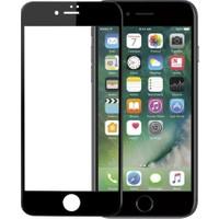 Sunix Emirtech Apple iPhone 7 Plus 3D Kavisli Temperli Cam Full Ekran Koruyucu + Silikon Kılıf