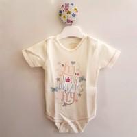 Aziz Bebe 001344 Kız Çıtçıtlı Body