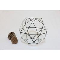 Green Sensations Ball Vitray Geometrik Cam Fanus Medium