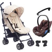 Easywalker Mini Buggy Travel Sistem Bebek Arabası Milky Jack