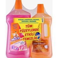 Pronto Promo Ahşap Temizleyici 750 ml + Mr Muscle Yüzey Temizleyici Floral 1 lt