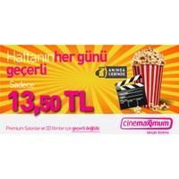 Tüm Cinemaximum'lar (Premium Sinemalar Hariç - 3D Hariç)- Sinema Bileti