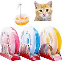 Practika Fareli ve Çıngıraklı Çılgın Daire Kedi Oyuncağı