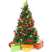 Dore Yılbaşı Çam Ağacı 150 Cm Large Paket 128 Parça Süs 4 Mt Aydınlatm