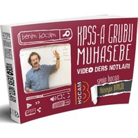 2018 Kpss A Muhasebe Video Ders Notları Benim Hocam Yayınları