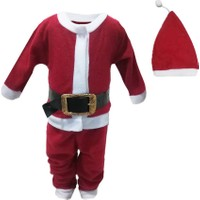 Shecco&Babba Yılbaşı Özel Bebek Çocuk Noel Baba Kostümü