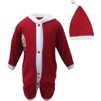 Shecco&Babba Yılbaşı Özel Bebek Noel Baba Tulumu