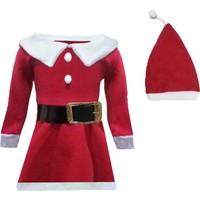 Shecco&Babba Yılbaşı Özel Bebek Noel Anne Kostümü