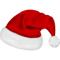 Shecco&Babba Yılbaşı Özel Yetişkin Noel Baba Şapkası Kadife
