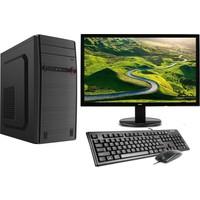 "Gamyx GMX6022 Intel Core i3 530 8GB 500GB Freedos 21.5"" FHD Masaüstü Bilgisayar"
