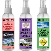 Xolo Kışlık Araç Koruyucu 3lü Set