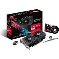 Asus Radeon RX560-O4G-EVO ROG-STRIX 256Bit 6GHZ DDR5 GAMING Ekran Kartı