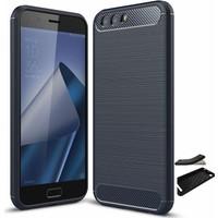 Teleplus Asus Zenfone 4 ZE554KL Özel Karbon ve Silikonlu Kılıf