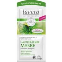 Lavera Purifying Cleansing Mask- Organic Mint, Mineral Clay & Dead Sea Salt 2x5 ml.