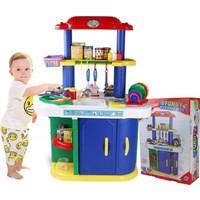 Emre Toys Oyuncak Tezgahlı Mutfak Seti Çok Fonksiyonlu Büyük Boy