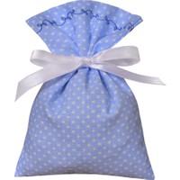 Turunç Tasarım Lavanta Kesesi Bebek Şekeri (Mavi)